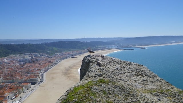 nazare viewpoint portugal