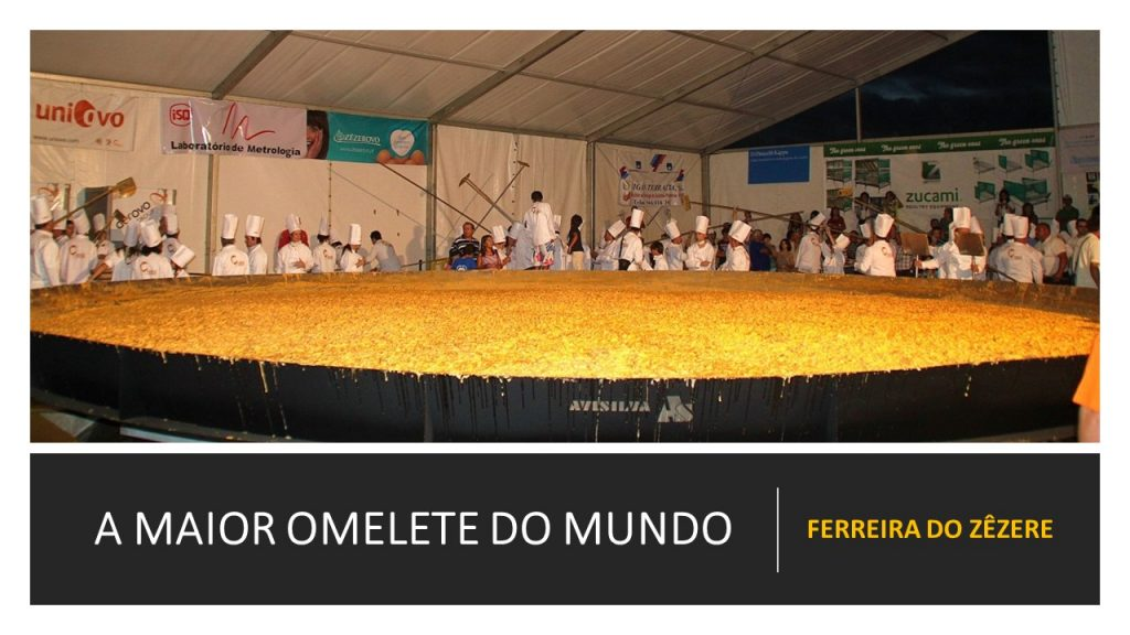 THE WORLD'S LARGEST OMELET